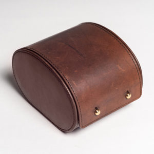 Vintage Leather Watch Case