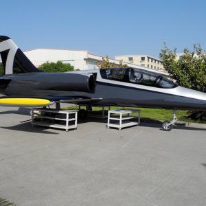 Full-size L-39 Albatros jet sculp...