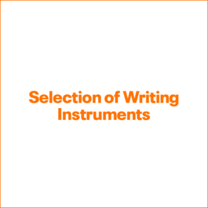 Selection of Writing Instruments