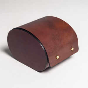 Natural Leather Watch Case