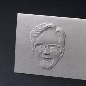 3D Embossed And Faceted Portrait ...