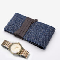 Recycled Fabric Travel Watch Pouc...