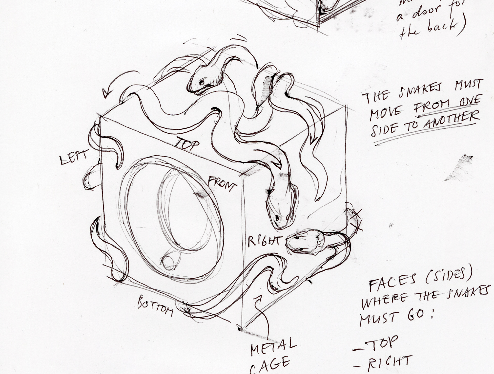 dessin adatte kubik snakes