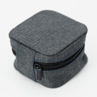 Soft Recycled Travel Watch Pouch